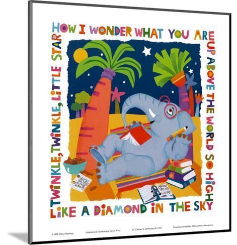 Twinkle, Twinkle-Cheryl Piperberg-Mounted Art Print