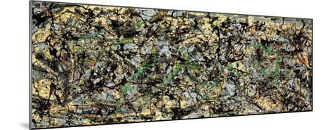 Lucifer-Jackson Pollock-Mounted Art Print