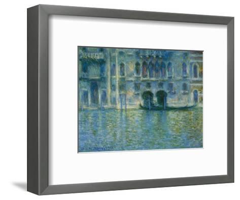 Palazzo Da Mula, Venice-Claude Monet-Framed Art Print