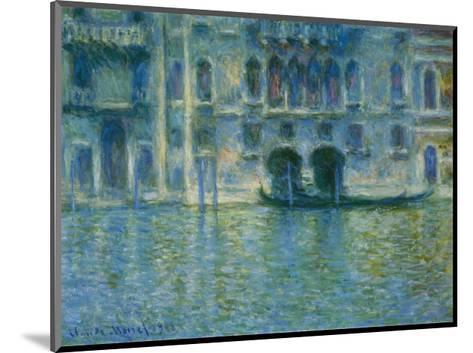 Palazzo Da Mula, Venice-Claude Monet-Mounted Art Print