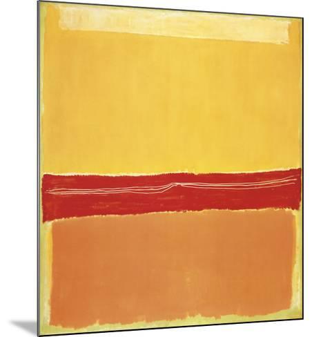 Number 5-Mark Rothko-Mounted Art Print