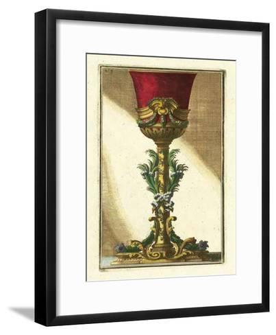 Red Goblet II-Giovanni Giardini-Framed Art Print