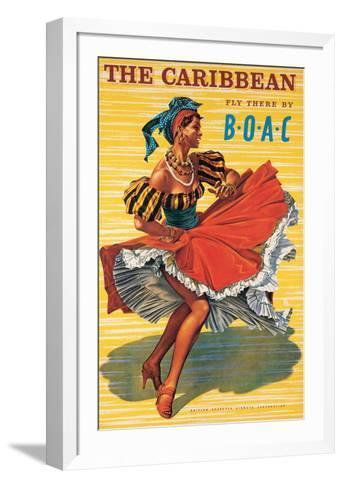 Caribbean-Ayes-Framed Art Print