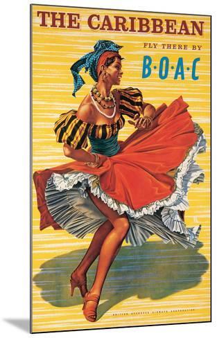 Caribbean-Ayes-Mounted Art Print
