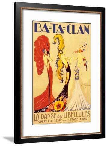 Ba-Ta-Clan-Jose de Zamora-Framed Art Print