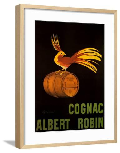 Cognac Albert Robin-Leonetto Cappiello-Framed Art Print