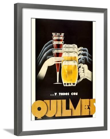Quilmes--Framed Art Print