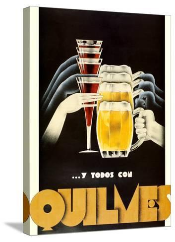 Quilmes--Stretched Canvas Print