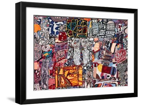 Theatre de Memoire, 1977-Jean Dubuffet-Framed Art Print