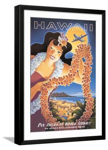 Hawaii--Framed Art Print