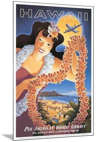 Hawaii--Mounted Art Print