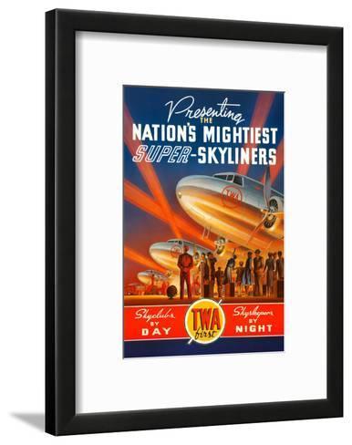 Super Skyliners-Kerne Erickson-Framed Art Print