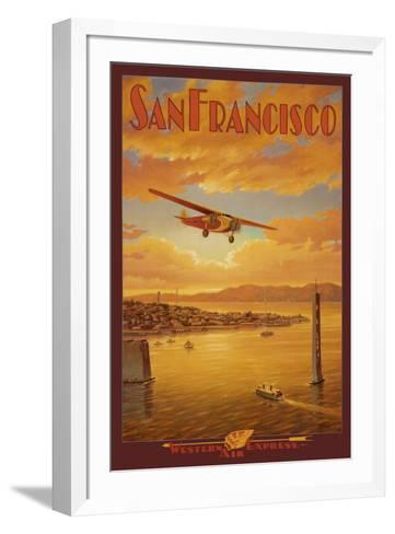 Western Air Express, San Francisco, California-Kerne Erickson-Framed Art Print