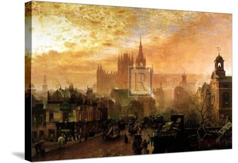 Sunset-John O'connor-Stretched Canvas Print