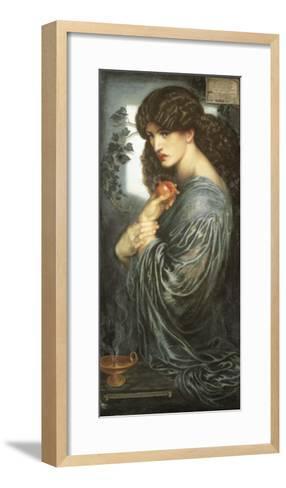 Prosperine-Dante Gabriel Rossetti-Framed Art Print