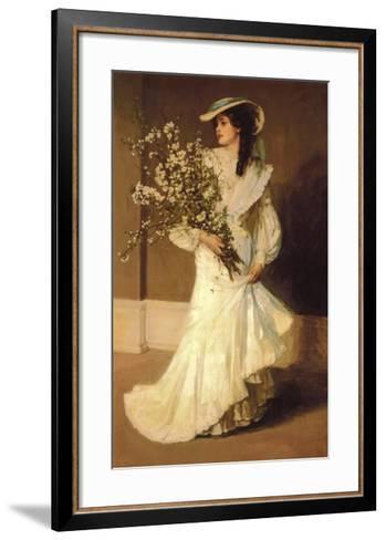 Spring-Sir John Lavery-Framed Art Print