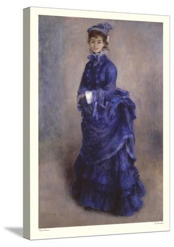 La Parisienne-Pierre-Auguste Renoir-Stretched Canvas Print