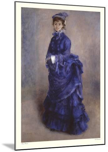 La Parisienne-Pierre-Auguste Renoir-Mounted Art Print