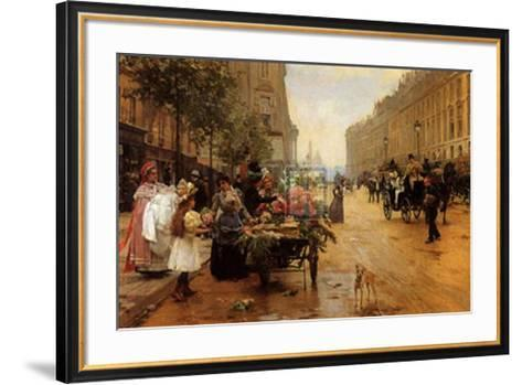 Rue Royale, Paris-L^ Shryver-Framed Art Print