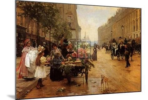 Rue Royale, Paris-L^ Shryver-Mounted Art Print