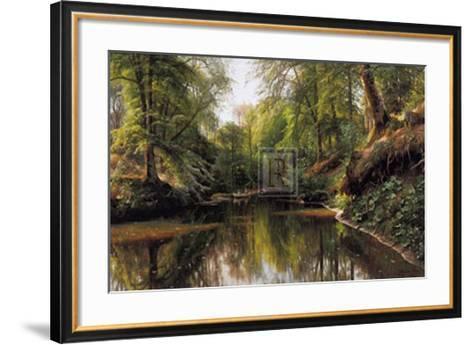 Out Boating, Saeby-Peder Mork Monsted-Framed Art Print