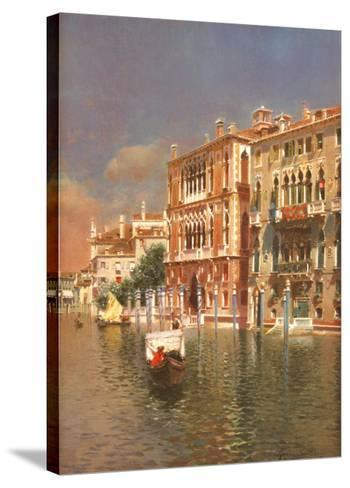The Grand Canal, Venice-Rubens Santoro-Stretched Canvas Print