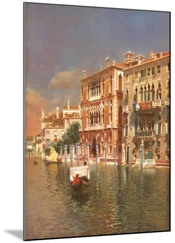 The Grand Canal, Venice-Rubens Santoro-Mounted Art Print