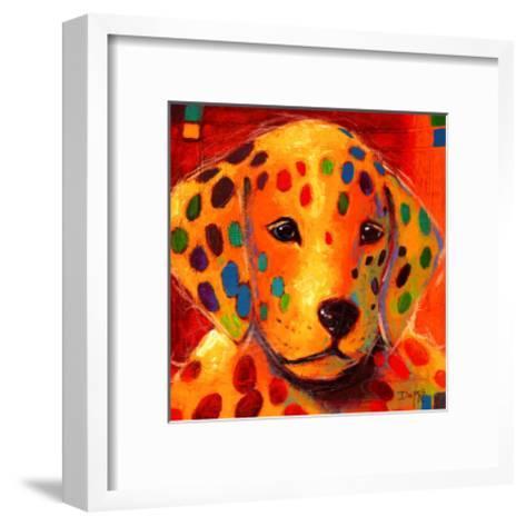 What Fire-Karen Dupr?-Framed Art Print