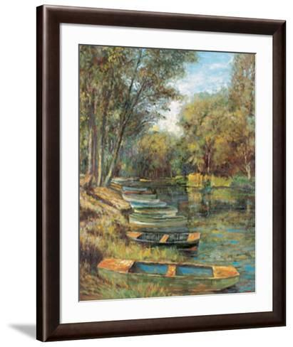 Morning Still-Michael Longo-Framed Art Print