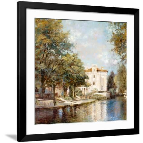 Reflections of France-Michael Longo-Framed Art Print