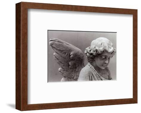 Sad Little Angel-Lilo Raymond-Framed Art Print