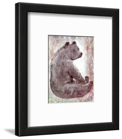 Bear-Silvana Crefcoeur-Framed Art Print