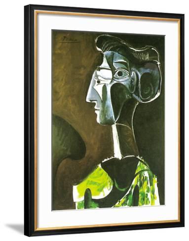 Grand Profil, 1963-Pablo Picasso-Framed Art Print