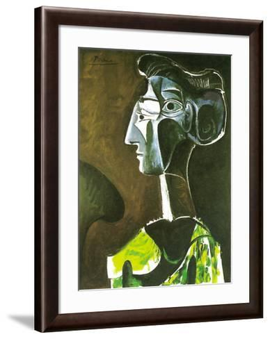 Grand Profil, 1963-Pablo Picasso-Framed Art Print