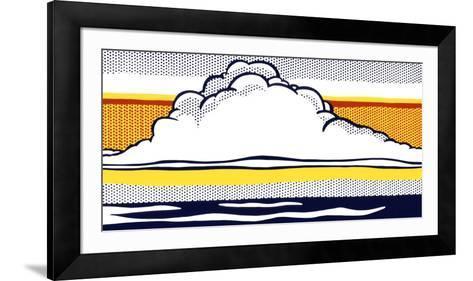 Cloud and Sea, 1964-Roy Lichtenstein-Framed Art Print