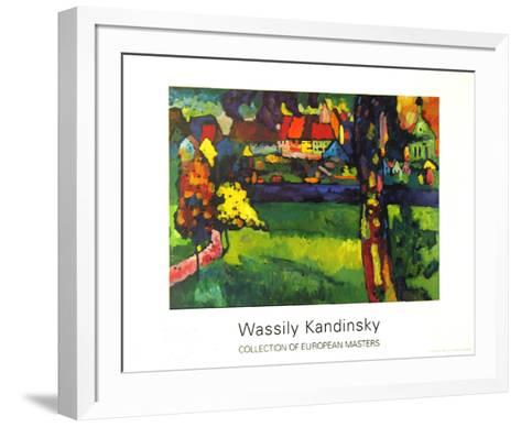 Murnau, 1909-Wassily Kandinsky-Framed Art Print