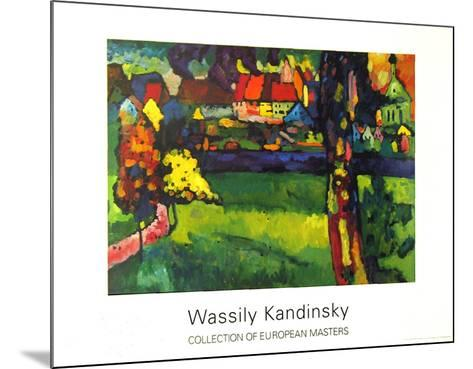 Murnau, 1909-Wassily Kandinsky-Mounted Collectable Print