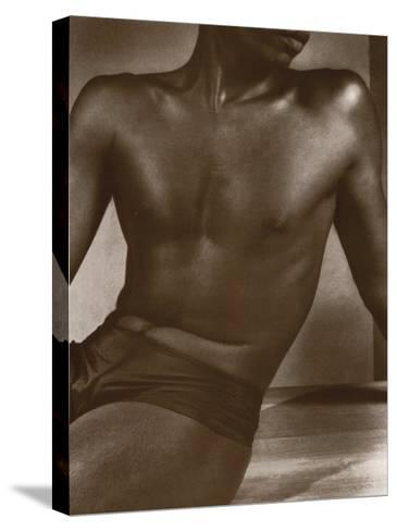 Ceylon, Male Torso-Lionel Wendt-Stretched Canvas Print