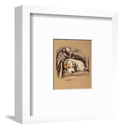 Dog's Life I-Mac-Framed Art Print