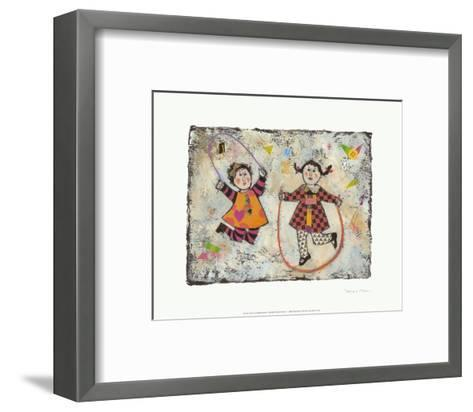 Jump!-Barbara Olsen-Framed Art Print