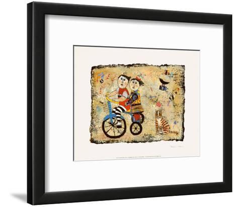Bicycle Built for Two-Barbara Olsen-Framed Art Print