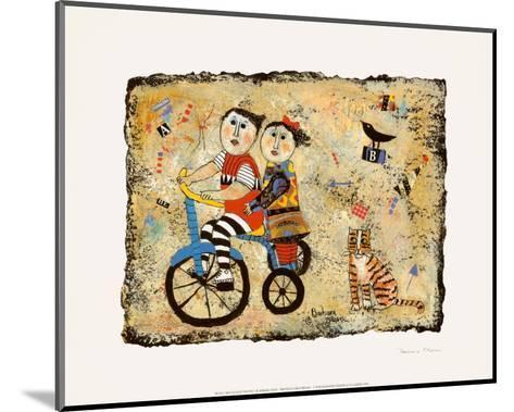 Bicycle Built for Two-Barbara Olsen-Mounted Art Print