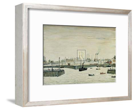 The Harbour-Laurence Stephen Lowry-Framed Art Print