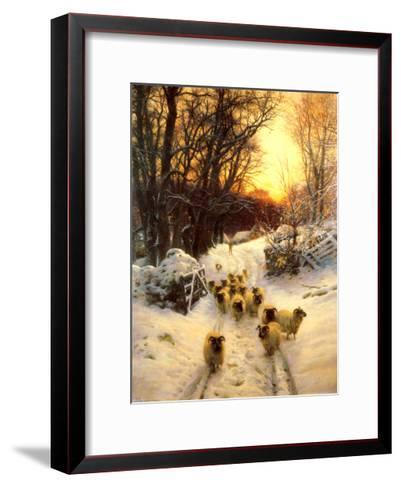 The Sun Had Closed-Joseph Farquharson-Framed Art Print