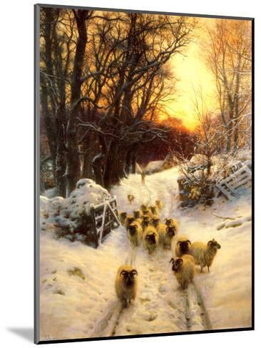 The Sun Had Closed-Joseph Farquharson-Mounted Art Print