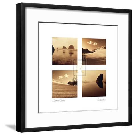 Summer Shores-Jo Crowther-Framed Art Print