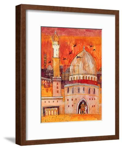 The Dawn-L^ Myhill-Framed Art Print