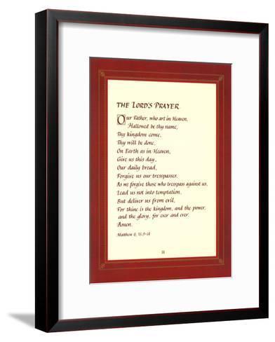 The Lord's Prayer--Framed Art Print