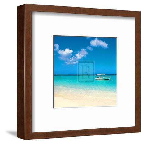 Tropical Horizons II- Adam Brock-Framed Art Print