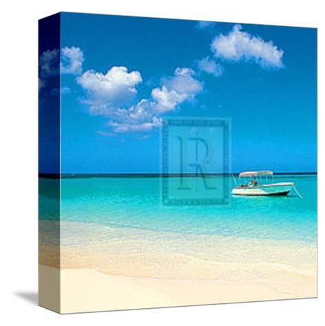 Tropical Horizons II- Adam Brock-Stretched Canvas Print